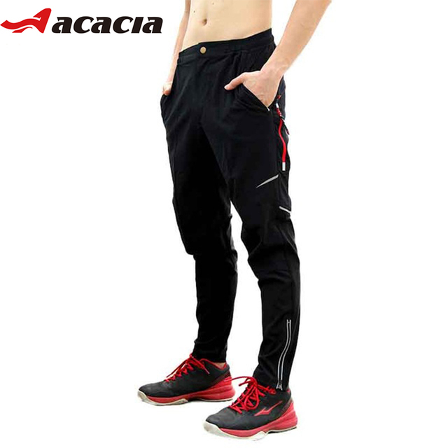 d268995ab4e4 ACACIA Spring Autumn Summer Pants Bicycle Pants Trousers Cool Breathable  Sportswear Bike Long Pants Fitness Sport