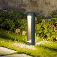 Thrisdar 10 W في الهواء الطلق مصابيح إنارة أضواء الحديقة الألومنيوم آخر الحديقة مصابيح المشهد حديقة فناء فيلا المسار ضوء عمود