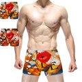 Wholesale 2 pcs/lot men panties sexy boxer Shorts Men Cartoon Sexy Mens Superman Boxer Men'S Underwear Male panties