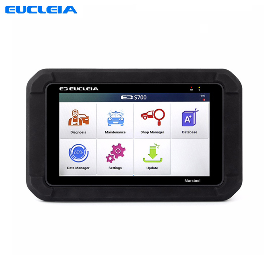EUCLEIA S7 Automotive scanner Universal Car Smart Diagnostic Tool OBD Code reader For ABS+EPB+CVT+TMPS Reset +Oil Service Reset