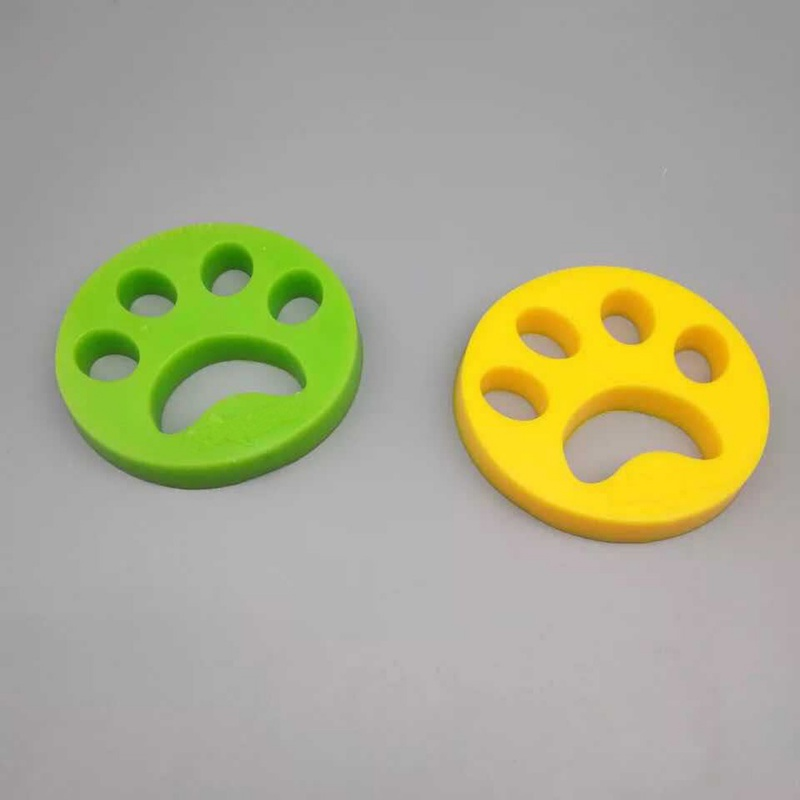 Dog Claw Shape Reusable Pet Hair Remover Static Brush Fur Cleaning Brushes Device Dust Brush Clothing Fur stick(China)
