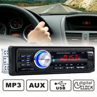 NEW!1131B12V Car Radio Stereo Bluetooth Handsfree Call Phone with SD AUX IN MP3 FM USB 1 Din in Dash Auto Audio Radio Player 520