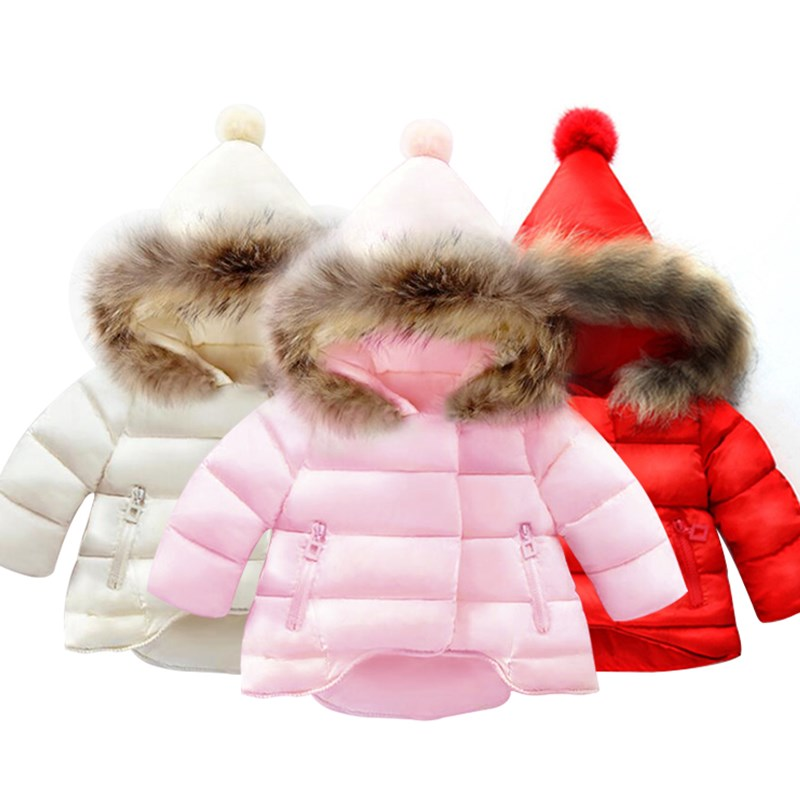 Baby Girls Clothes,Children Winter long sleeve Warm Jacket & Outwear,Girls Cotton-padded Outwear Baby Girls Coat for Christmas 1 bag 10mm spiral wrapping tube flexible cable sleeves flame retardant winding pipe black white spiral wire