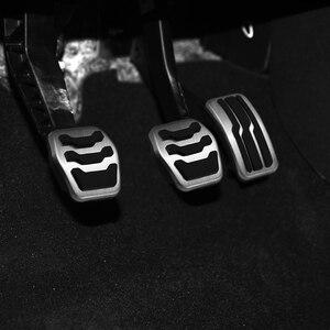 Image 3 - נירוסטה רכב פנים שאר דוושות דלק גז בלם דוושת כיסוי לפורד C מקס CMax Kuga 2011 ~ 2019 אביזרים