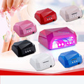 36W UV Lamp LED Ultraviolet Lamp UV Nail Dryer Nail Lamp Diamond Shaped CCFL Curing for UV Gel Nails Polish Nail Art