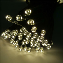 YIYANG Solar 12M 100 LED String Lights Decoration For Christ