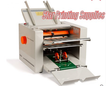 Hot sale Automatic paper folding machine max for 310x700mm, high speed, 4 folding trays, large work load for user manual