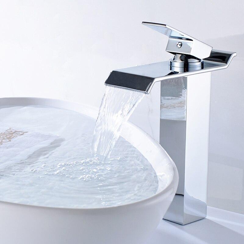 Single Bathroom Faucet Chrome