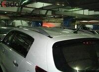 Hot For Hyundai IX35 2010 2011 Aluminium Alloy Roof Racks Luggage Carrier Luggage Rack Side Rails Bar Good Load bearing Car Trim