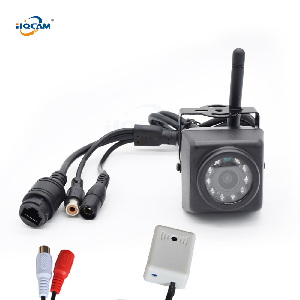 HQCAM Audio 720 P 960 P 1080 P Vision nocturne extérieur WIFI caméra IP nid oiseau regarder caméra Wifi caméra étanche caméra pick-up camhi
