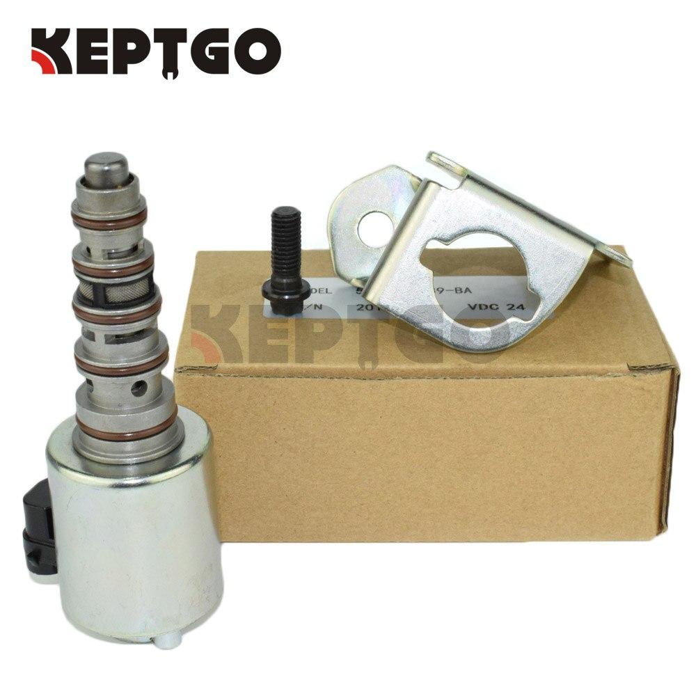 24v 5C3Z-6F089-BA Control Solenoid For Ford 6.0L F250 F350 F450 5C3Z6F089BA 5c3z9d930a for ford diesel powerstroke excursion f250 f350 f450 f550 250 350 450 550 f v8 6 0l fuel injector ficm wiring harness