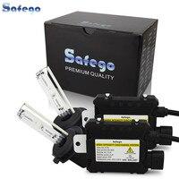 Safego 55 Вт ксеноновая лампа комплект H7 H4 H1 H3 H8 H9 H10 H11 H13 9005 9006 hid переделочный Комплект 4300 K 6000 K 8000 k