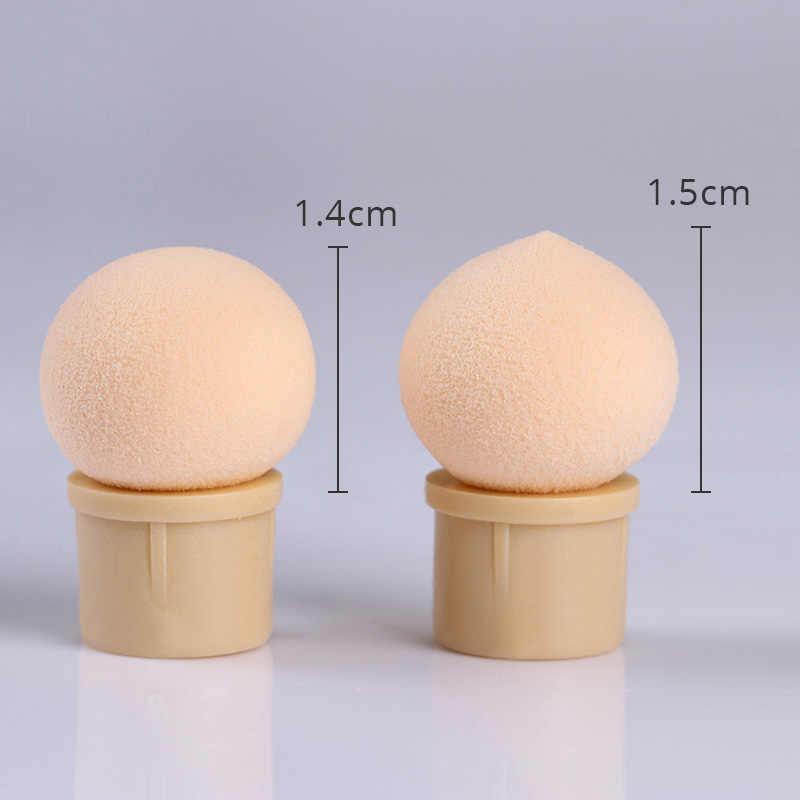 Gradientowe zdobienie paznokci pędzle do makijażu zestaw Dual-headed gąbki paznokcie wzory malowanie brokat w proszku zbieranie rozsianych akrylowe narzędzia DIY