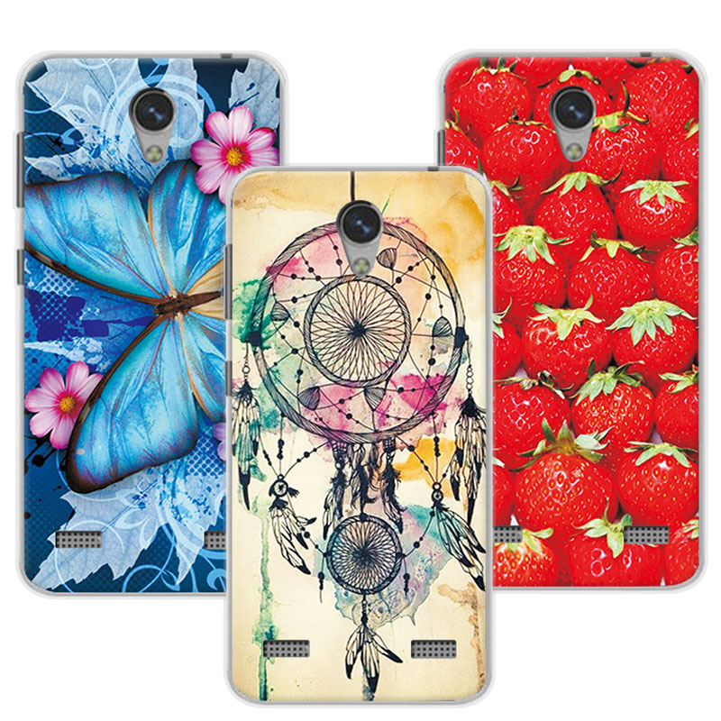 Floral Print Case For ZTE Blade A520 Women Girls Colorful Beautiful Flowers TPU Cover Cases For ZTE A520 BA520 A 520 Funda 5
