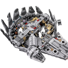 цены Building Blocks Compatible Brand 75105 05007 1381Pcs Star Wars Series Starship Millennium Falcones With Weapon Figures Toys