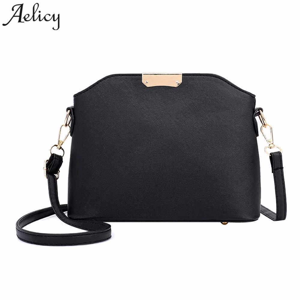 873e7c1c5204 Aelicy высокое качество кожаные сумки Женский Сумка Однотонная одежда женские  сумки на плечо девять Карамельный цвет