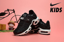 Nike Air Max Tn Kids Shoes Offical New Arrival Children Running Shoes Comfortable Sports Sneakers(China)