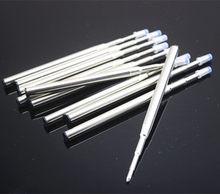 Recargas de caneta esferográfica, recarga de caneta esferográfica azul/preta para mb, acessórios de recarga de caneta esferográfica para escritório e escrita com tinta 10 pçs/lote
