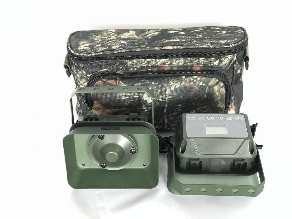PDDHKK chasse leurres oie canard oiseaux chasse leurre construit en 323 oiseau voix Portable Animal chant dispositif amplificateur étanche