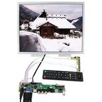 ТВ + HDMI + VGA + CVBS + USB + RF lcd плата контроллера с 15 дюймов 1024x768 LQ150X1LW94 ЖК экран