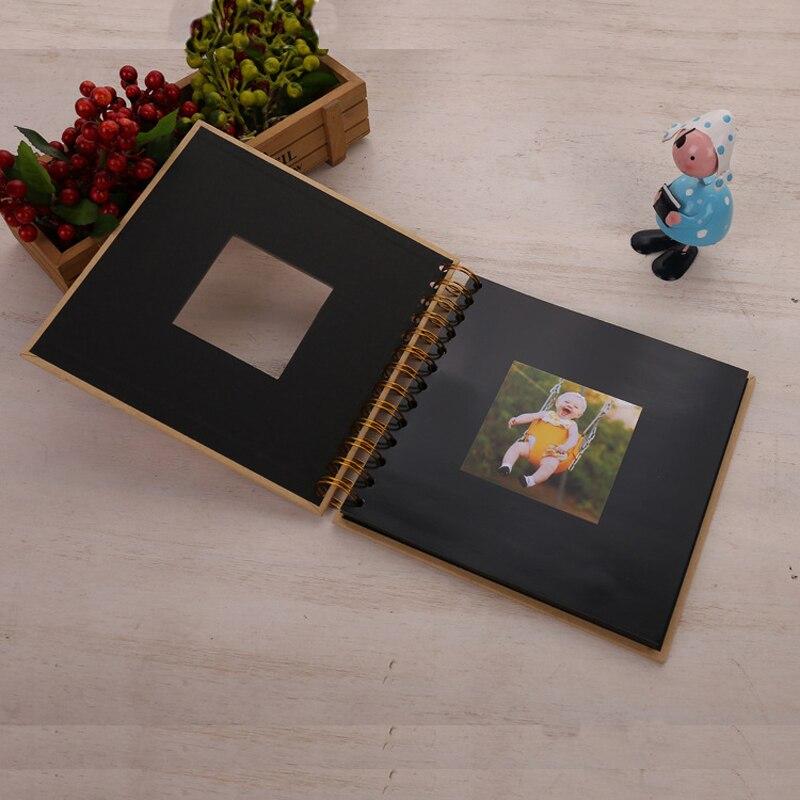 20 страниц DIY Fotoalbum, фотоальбом для детей, книга памяти, бумага, фотоальбом для детей, скрапбукинг, фотоальбом