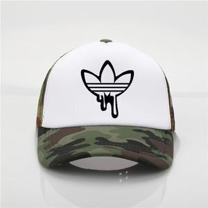 a3a51c98e8cea OLN Print baseball cap Men women Summer Youth sun hat Visor
