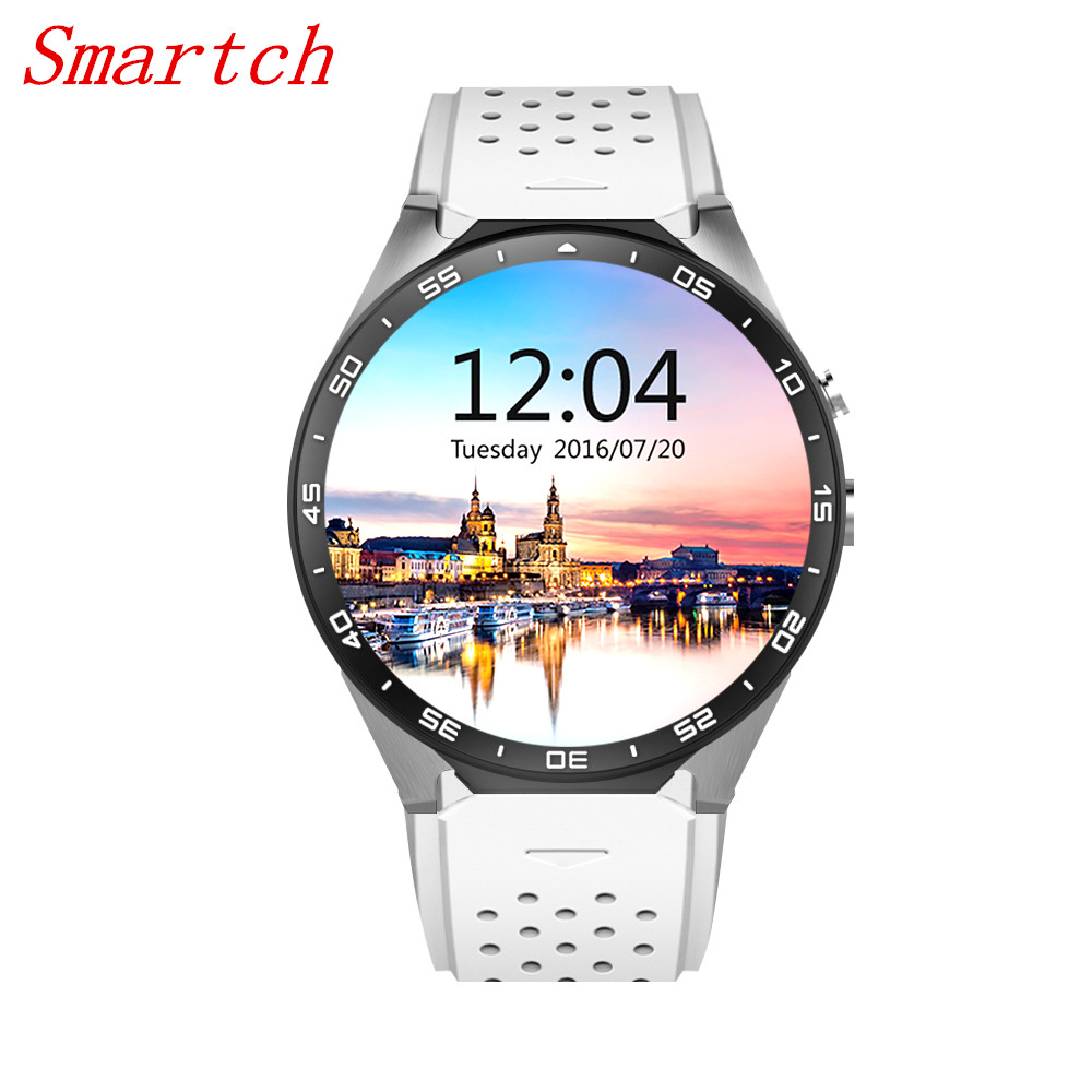 Smartch KW88 Wifi Smart Watches Android IOS SmartWatch Google Play GPS map pedometers touch digital smartwatch for men women детская игрушка new wifi ios