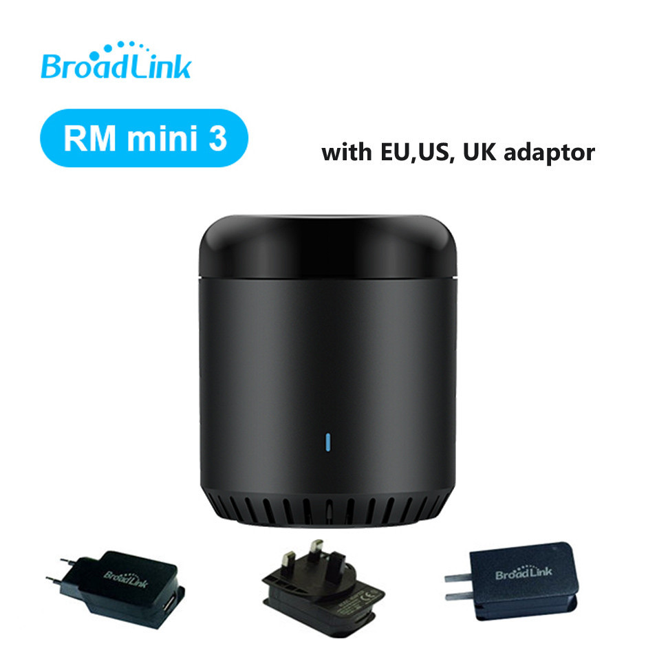 Broadlink EU / ABŞ / UK RM Mini3, Smart Home Automation, WiFi + IR + 4G, Universal Ağıllı, Smart APP Simsiz İdarəetmə IOS Android