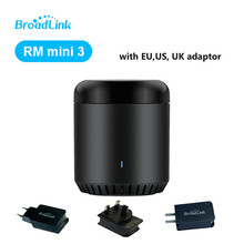 Broadlink EU/US/UK RM Mini3,Smart Home Automation,WiFi+IR+4G,Universal Intelligent,Smart APP Wireless Control by IOS Android стоимость