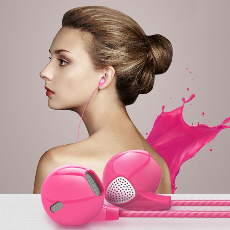 High Quality Deep Bass Gaming Headset Earphone Headband for Doogee Y6 Max 3D Piano Black Headset fone de ouvido