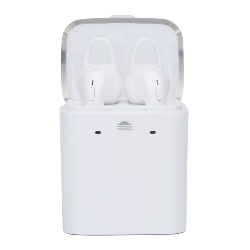 все цены на NEW Wireless Bluetooth 4.1 In-ear Earphones Stereo Headset For iphone 7 for Android Phone for Samsung for Xiaomi онлайн
