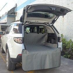Автомобильный коврик для домашних животных, брезент, водонепроницаемый, ткань Оксфорд, для собак, кошек, чехлы для задних сидений, задний ав...