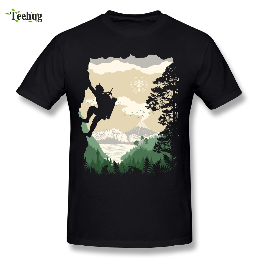 Awesome Game Male Breath Of Adventure Legend Of The Zelda T Shirts