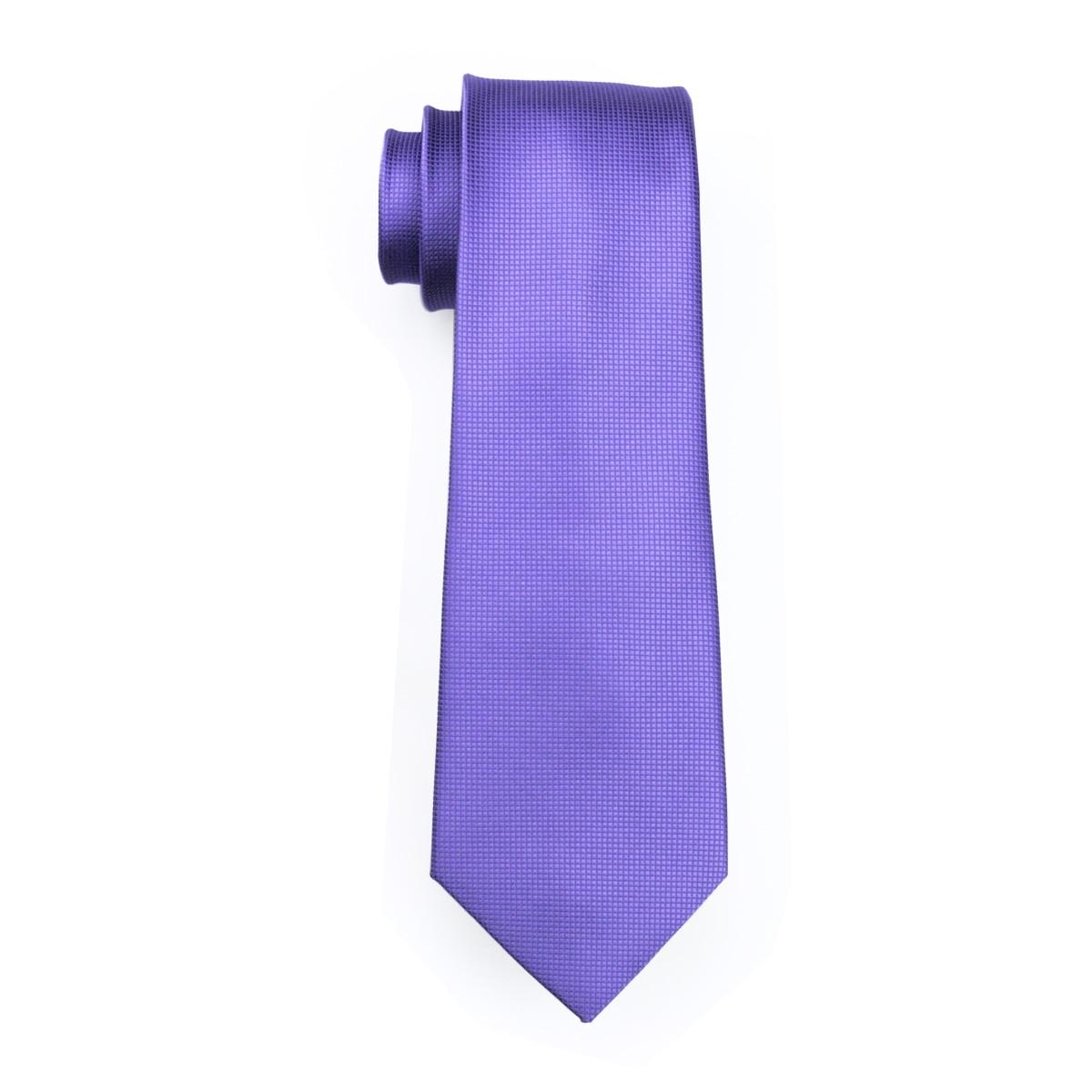Мужской галстук фиолетовый сплошной равномерный цвет шелковый галстук наборы галстуки для мужчин gravata для Свадебное торжество деловая встреча GP-015