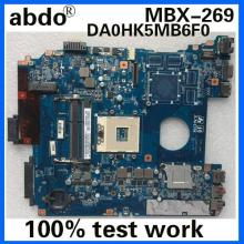Abdo MBX-269 DA0HK5MB6F0 REV: F A1876097A для SONY SVE1511RFXB SVE151 SVE15 Тетрадь материнская плата PGA989 HM77 DDR3 Тесты работы
