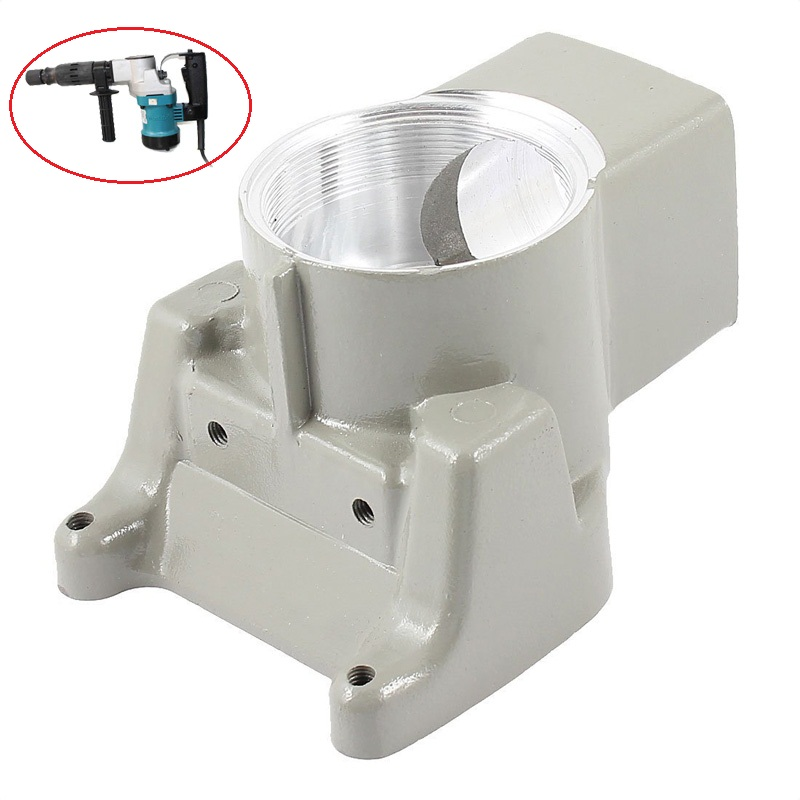 Gray Aluminum Gear Case Gearbox CRANK HOUSING COMPLETE Replacement for Makita HM0810 HM0810T HM0810B 157627-8 Electric Hammer loncin zongshen lifan tricycle motorcycle gearbox or shift gearbox for 150 200cc motorcycle powerful gearbox chuanyu brand