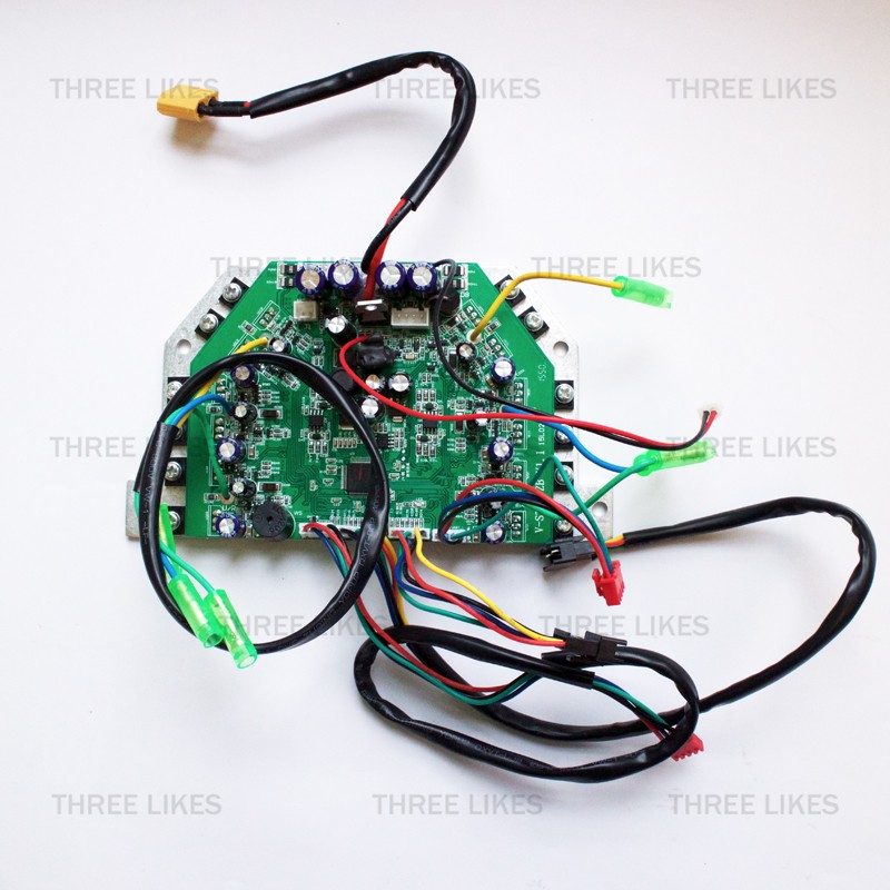 Universal 6.5/8/10 Inches 2 Wheels Self Balancing Electric Scooter Parts Hoverboard Motherboard Control Board, 9 Items In Total