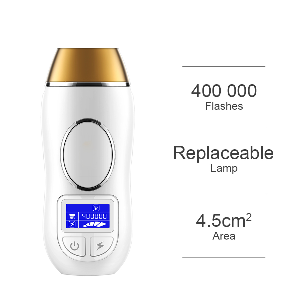 IPL Laser Hair Removal Machine Safe Permanent Painless Bikini Underarm Body Hair Removal Device 5 Levels Home Electric Epilator free shipping home use professional ipl permanent painless hair removal electric epilator for male and female