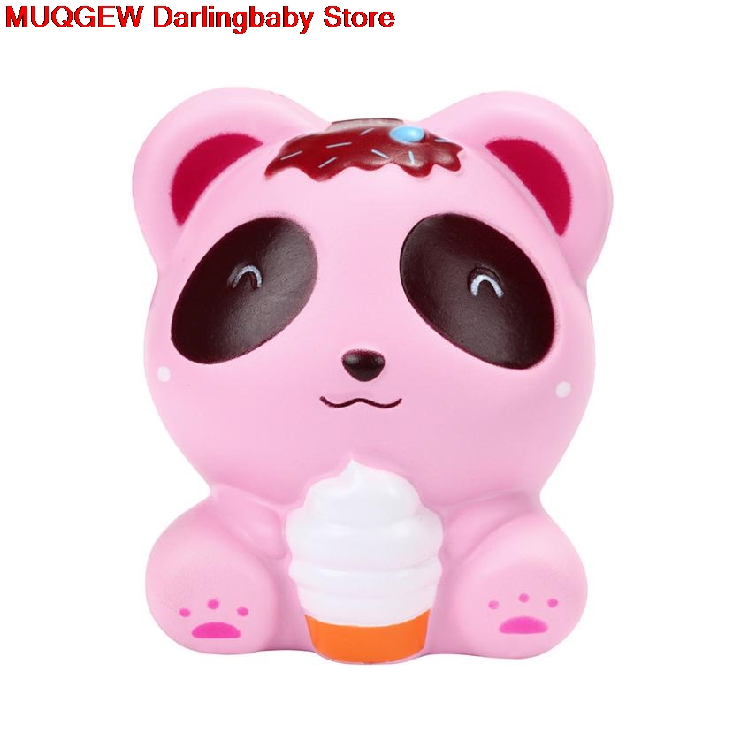 Welding Helmets Cute Ice Cream Panda Scented Slow Rising Squeeze Toys Squishy Anti Stress Fun Funny Gadget Interesting Toys Kid Gift Decoration Relieving Heat And Sunstroke