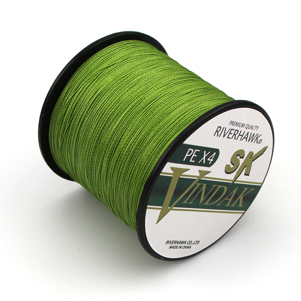 RiverHawk Brand Superpower 500m 12LB - 80LB Braided Fishing Line PE Strong Multifilament Fishing Line Carp Fishing Saltwater