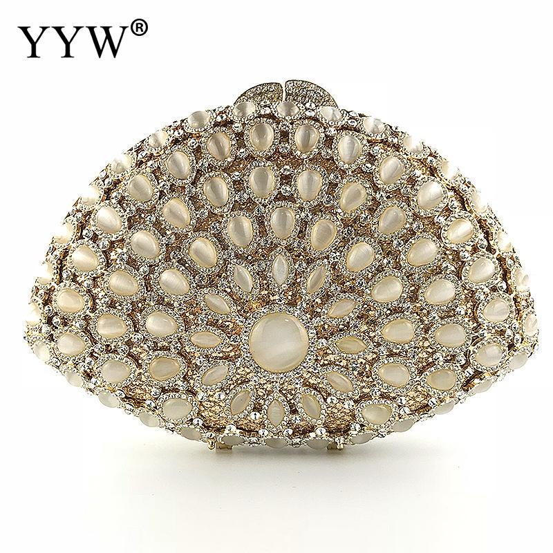Wedding Diamond Floral Woman Bag Rhinestone Clutch Bag Crystal Handbag Sling Package Cell Phone Pocket Matching Bag Wallet Purse все цены