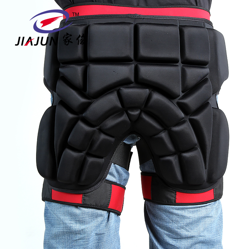 JIAJUN Outdoor Sport Snowboarding Anti-Fall Pants Protective Gears Ski Nappy Pants Skate Riding Scooters Protective Shorts