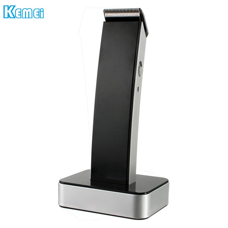 kemei KM-619 Super Slim Body rechargeable hair clipper electric trimmer machine barber cutting trimmer Haircut Cordless Black p80 panasonic super high cost complete air cutter torches torch head body straigh machine arc starting 12foot