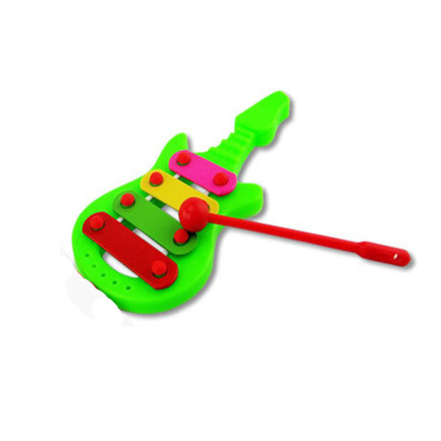 Guitar Shaped 4 Notes Xylophone