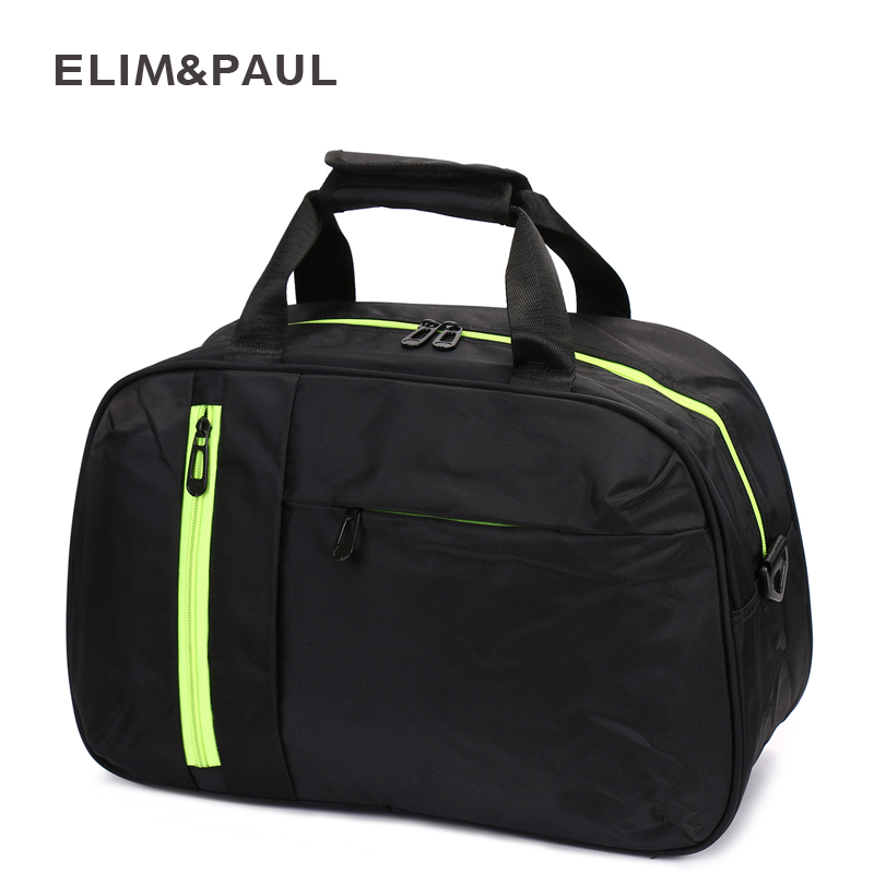 ELIM&PAUL Luggage Bag Casual Nylon Luggage Travel Bags Women Large Capacity Duffle Bag for Travel Women Handbags ...
