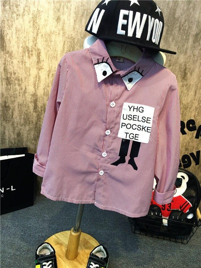Einzelhandel Frühling Und Herbst Kinder Tragen Neue Hübscher Junge Stilvolle Shirt Modische SorgfäLtig AusgewäHlte Materialien
