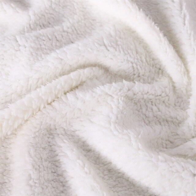 3D Wolf Hooded Blanket 6