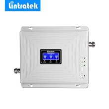 Lintratek Signal Amplifier GSM 900MHz LTE 1800MHz UMTS 2100MHz 2G 3G 4G Tri Band Mobile Cell Phone Signal Booster Repeater #35