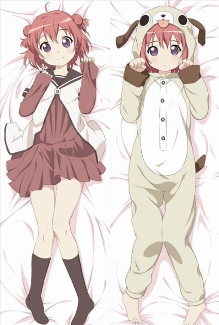 HOT Funny Anime Yuruyuri Akaza Akari Dakimakura Hugging Body Pillow Best Funny Body Pillow Covers