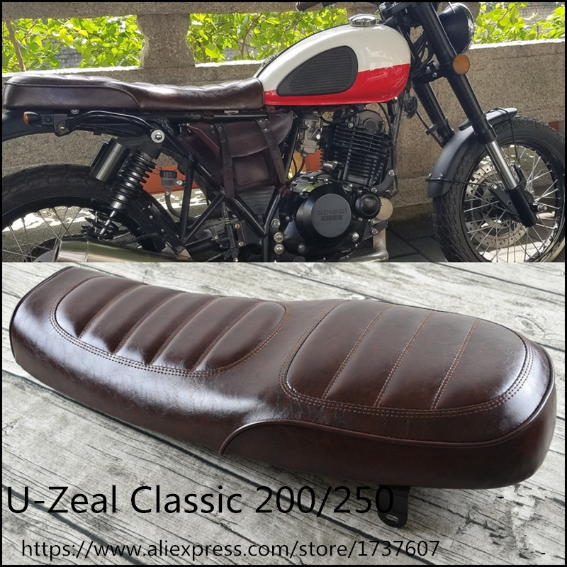 Handmade Modified Vintage Harley Bobber Fender cushion  Saddle Cafe Racer Seat